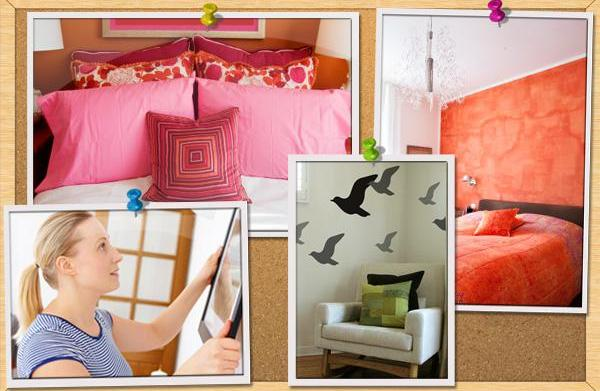 10 Bright and budget-friendly bedroom decorating