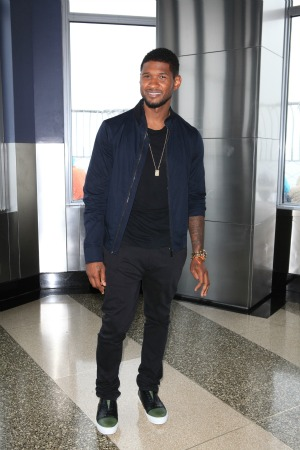 Usher is thankful to the men who rescued his son