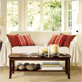 Dropcloth Loose-Fit Slipcover