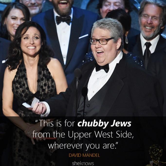 David Mandel Emmys speech