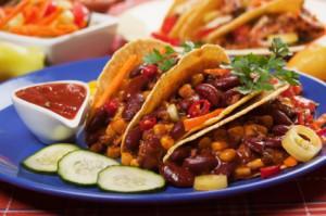 Chili Bean Tacos