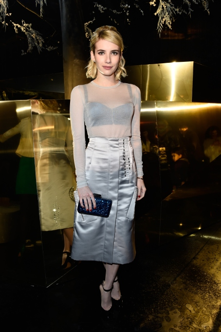 Emma Roberts mesh outfit