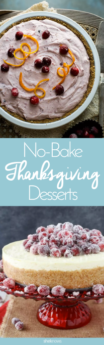 Easy No-Bake Thanksgiving Desserts: Pin it!