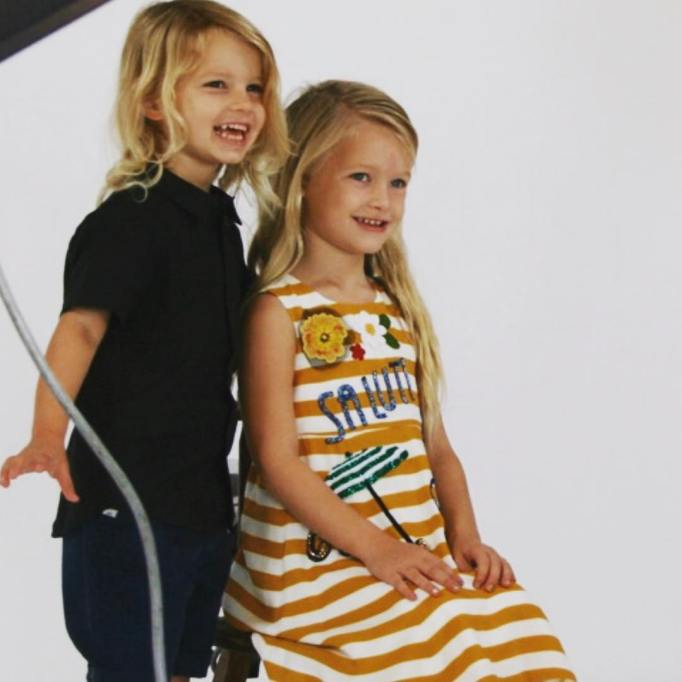 Jessica Simpson's family photos are totally beautiful: Maxwell and Ace are ready for school
