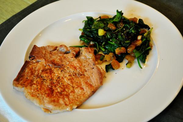 Tonight's Dinner: Paprika pork chops &
