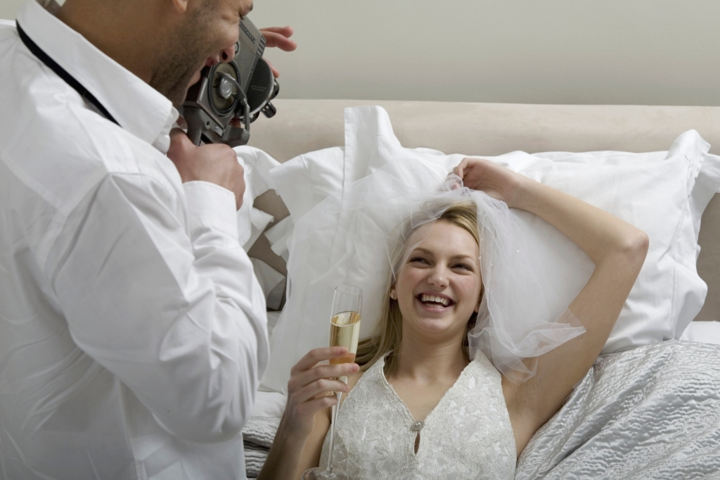 Couples are apparently paying for nude wedding night
