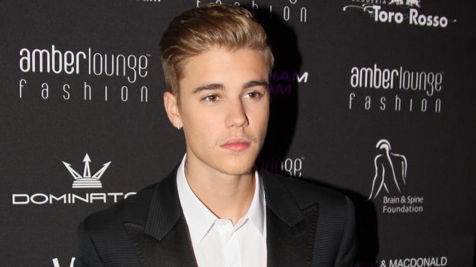 Justin Bieber has a serious Movember