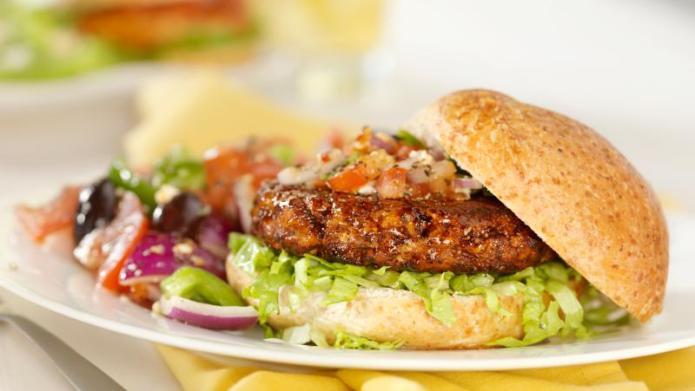 Tonight's Dinner: Blue cheese burger