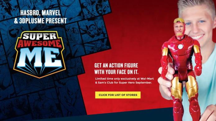Walmart unveils awesome 3-D Marvel printing