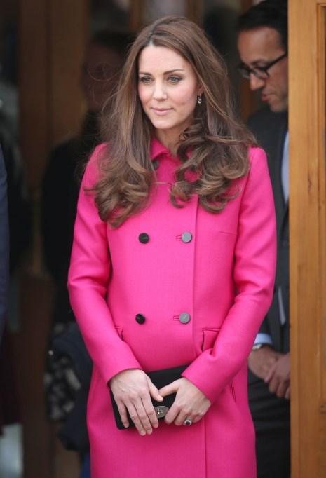 Kate Middleton hot pink coat