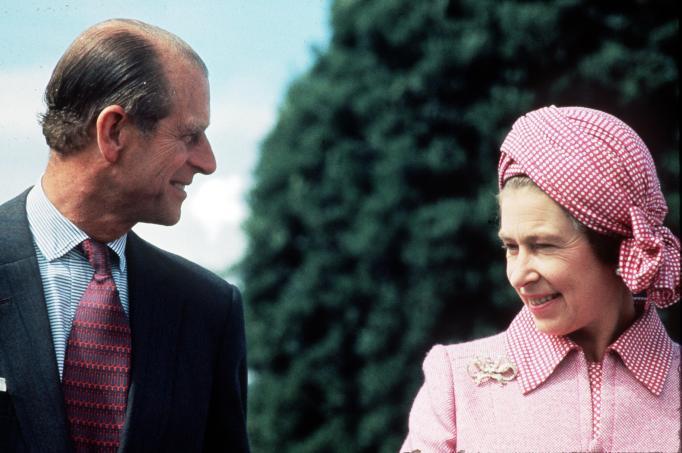 Queen Elizabeth II & Prince Philip in 1976
