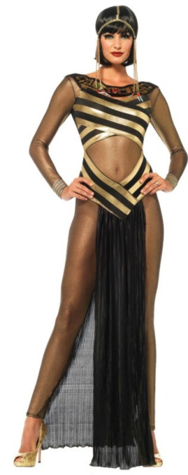 Sexy Halloween Costumes: Queen of the Nile