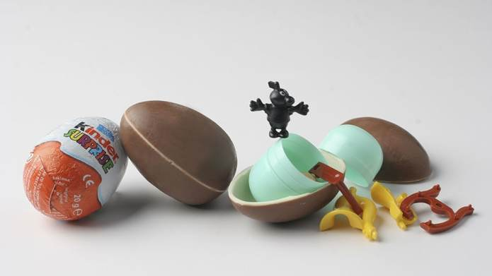 Kinder Eggs Are Coming to the
