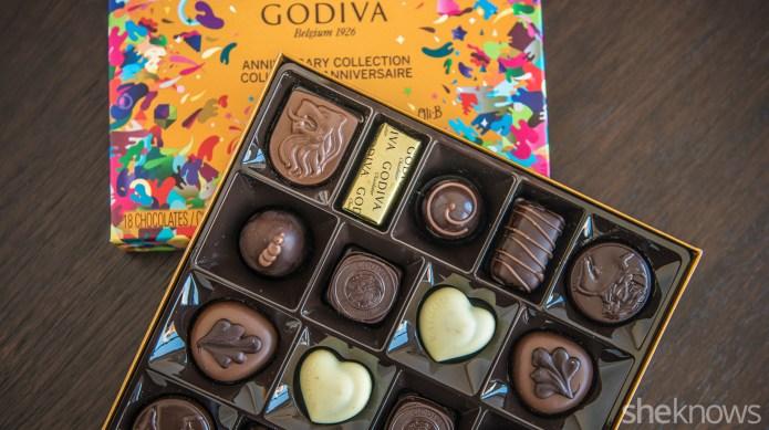 We tried every chocolate in Godiva's