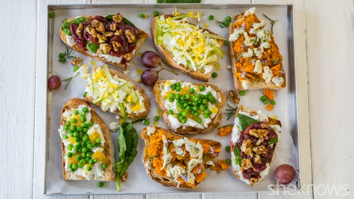 4 Easy bruschetta recipes with delicious