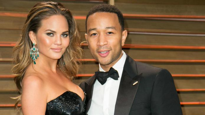 Chrissy Teigen and John Legend top