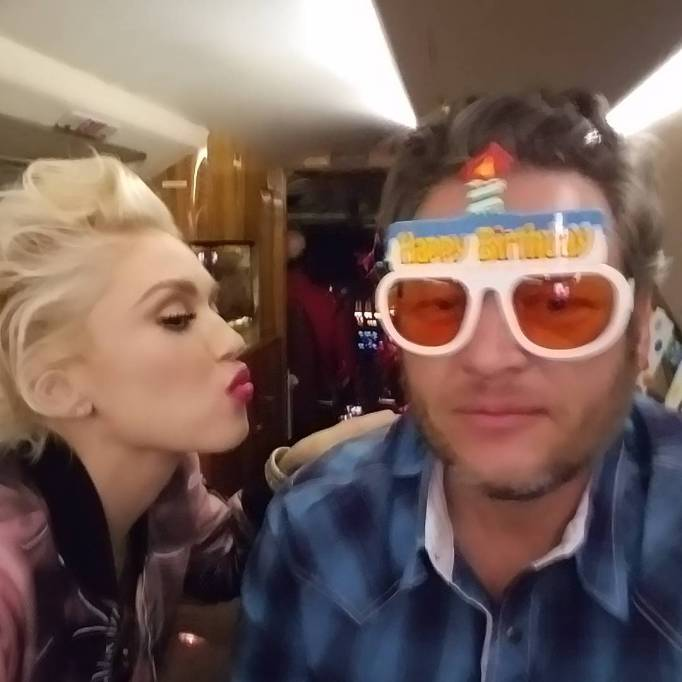 Photos of Blake Shelton and Gwen Stefani being the most perfect couple ever