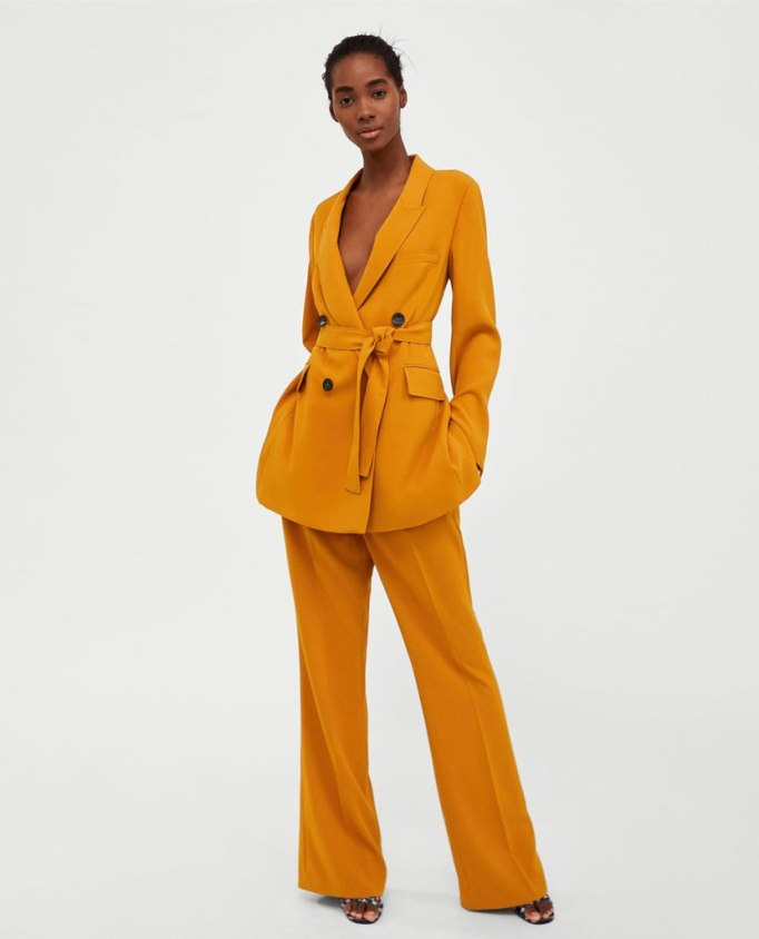 Modern Pieces For Every Woman's Work Wardrobe | Zara Jacket and Trouser