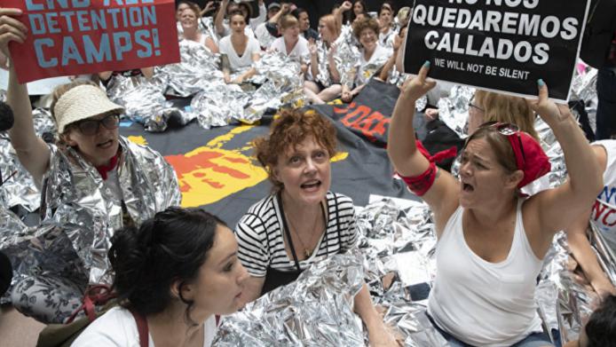 Photo of Susan Sarandon in Washington