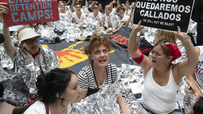 Photo of Susan Sarandon in Washington