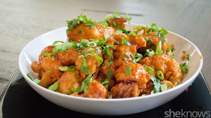 Meatless Monday: Spicy kung pao cauliflower
