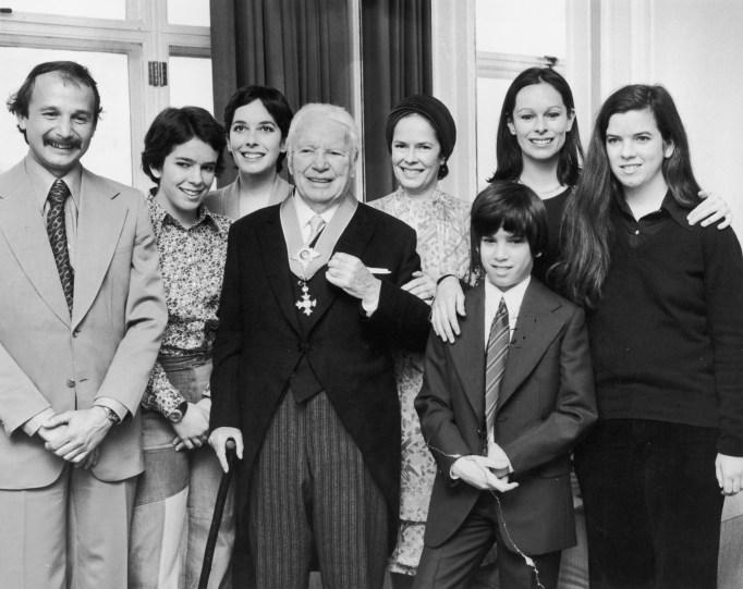 Charlie Chaplin's kids