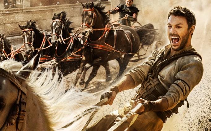Jack Huston as Ben-Hur.
