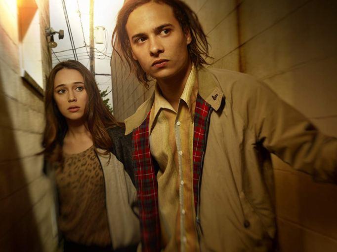 Frank Dillane and Alycia Debnam-Carey in 'Fear the Walking Dead'