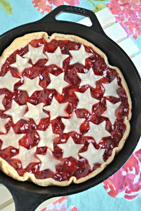 2-ingredient Grilled Cherry Pie