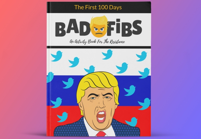 This Hilarious Trump Activity Book Will