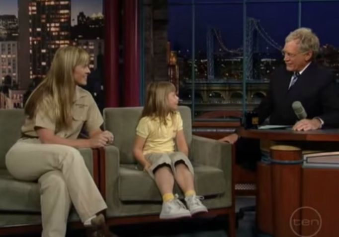 bindi-irwin-david-letterman