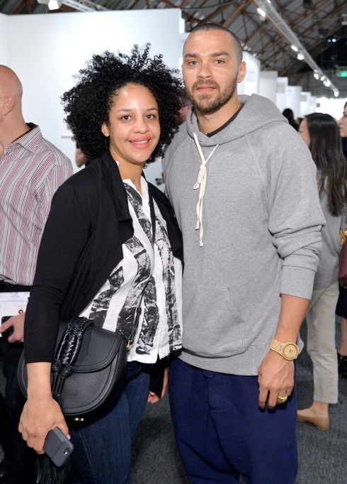 Aryn Drake-Lee and Jesse Williams