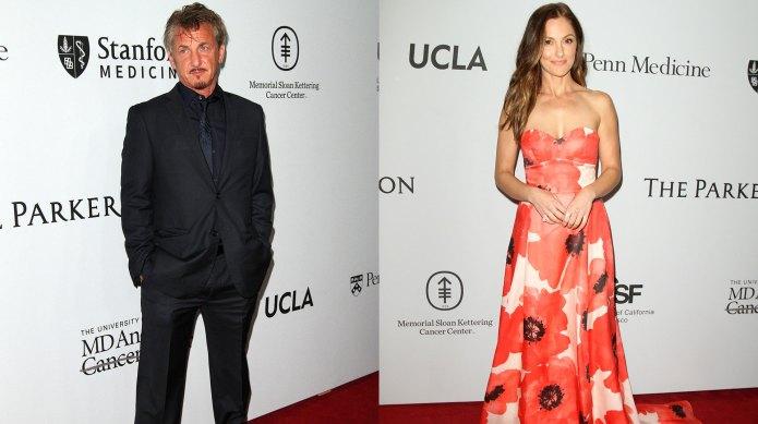 Sean Penn and Minka Kelly caught