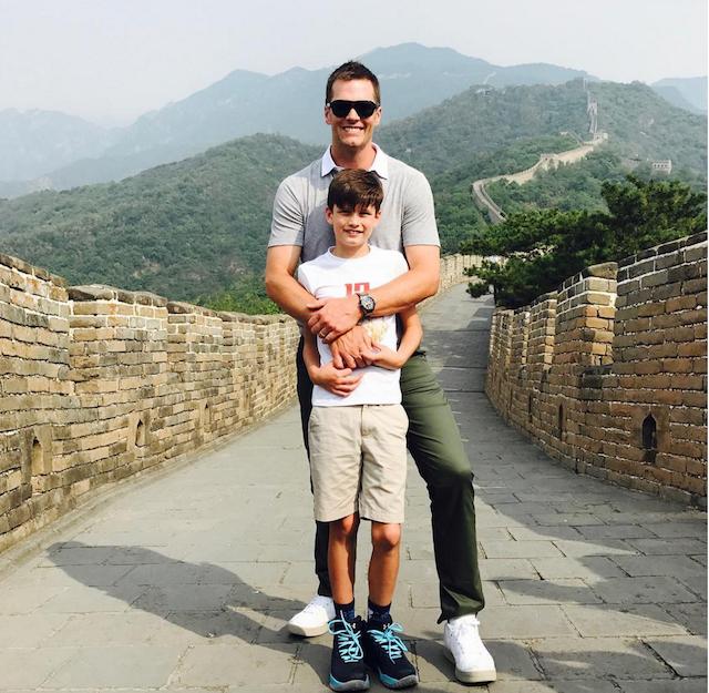 Celebrity Dads on Father's Day 2017: Tom Brady