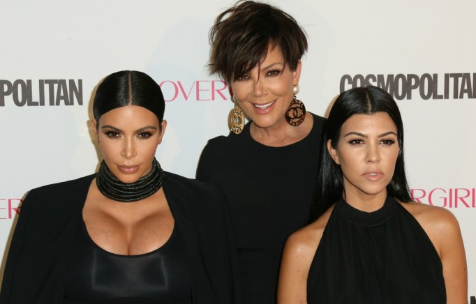 Kim Kardashian, Kourtney Kardashian and Kris Jenner