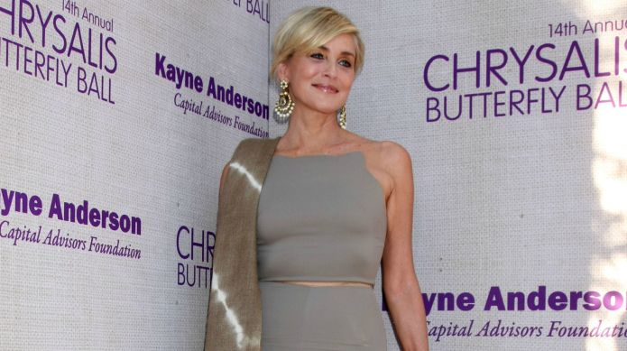 Sharon Stone looks unbelievable naked at