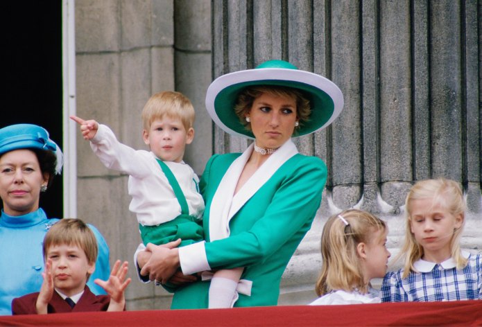 Princess Diana and Her Former Lover