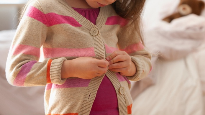 I let my 5-year-old daughter dress