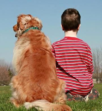How dogs help children with autism