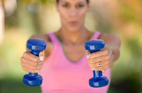 Upper-body workout for runners