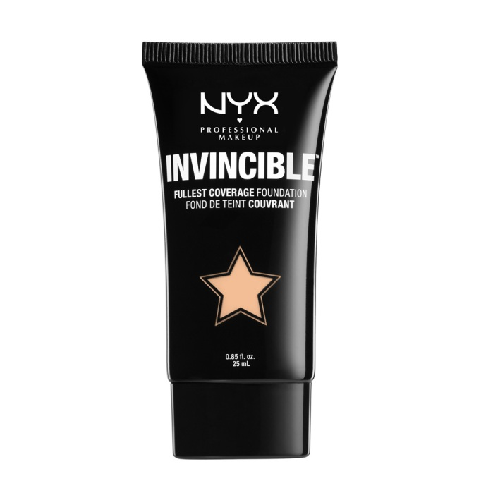 The Best Drugstore Foundations for Oily Skin: NYX Invincible Fullest Coverage Foundation | Summer Makeup 2017