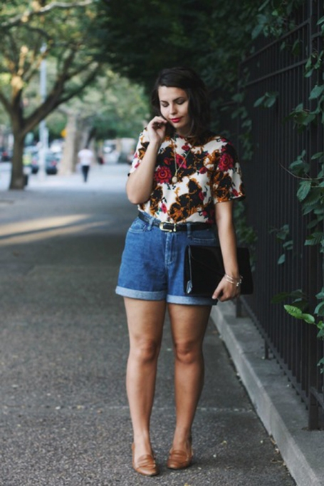 Bloggers Show You How to Wear Shorts for Fall : Someone Like You