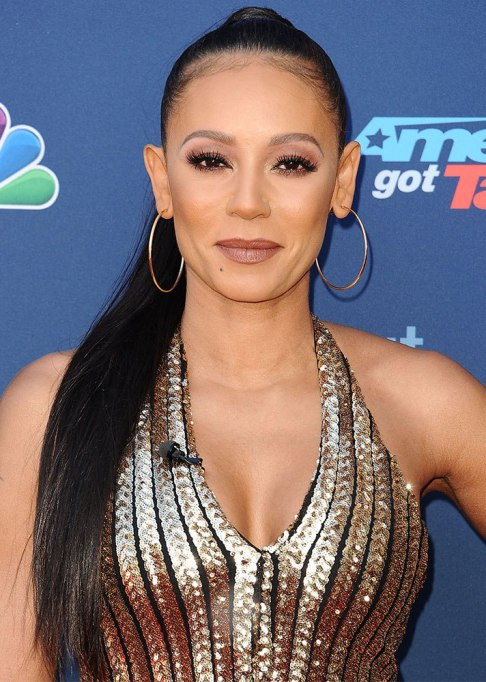 Best Celebrity Hair Transformations of 2017: Mel B's extra long hair