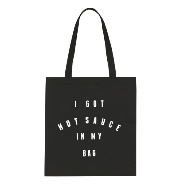 beyonce hot sauce tote