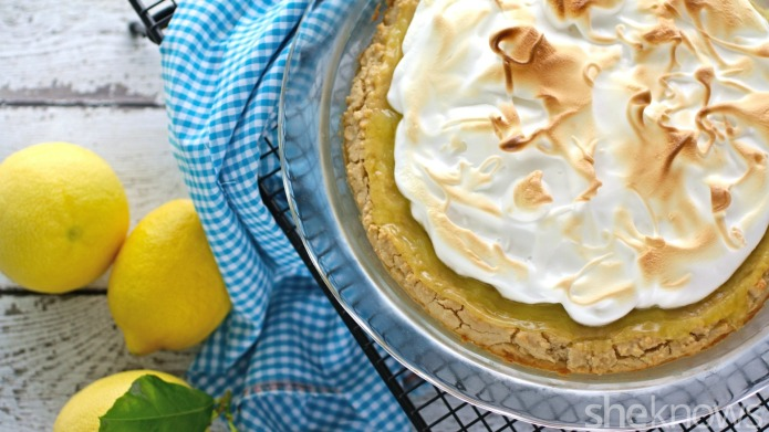 Gluten-Free Friday: Lemon meringue pie with