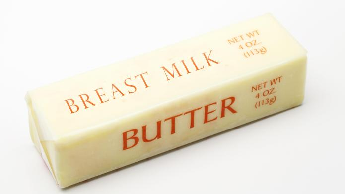 A woman on Reddit decided to make butter out of her breast