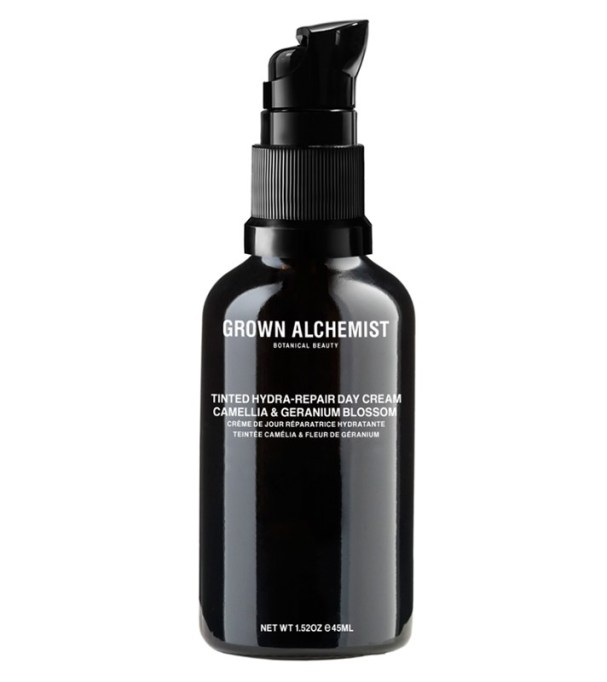 The Absolute Best Facial Moisturizers: Grown Alchemist Tinted Hydra-Repair Day Cream | Summer Skincare 2017
