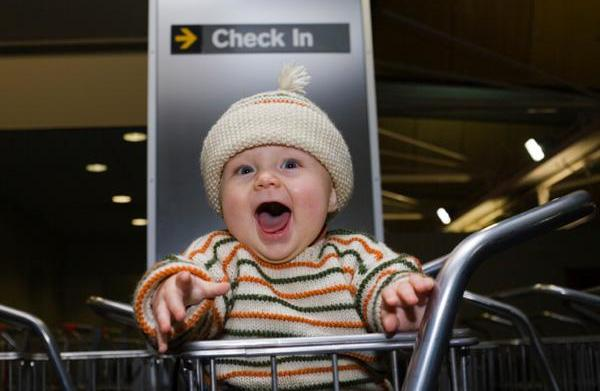 The new parent's guide to flying