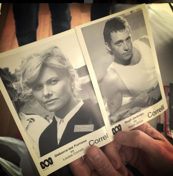 Deborra-lee Furness & Hugh Jackman headshots