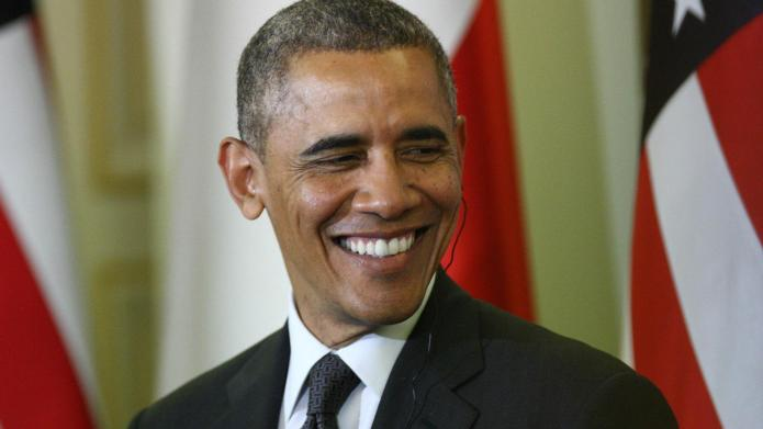 Barack Obama's 'Uptown Funk' dub is